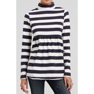 FREE PEOPLE Mod About It Striped Tunic Top